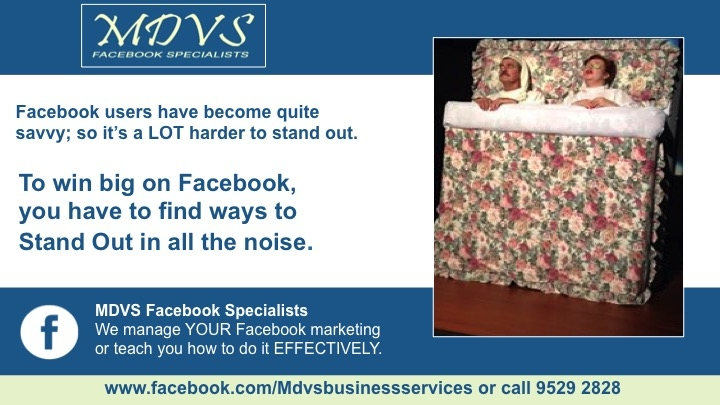 Facebook specialists and training in Perth