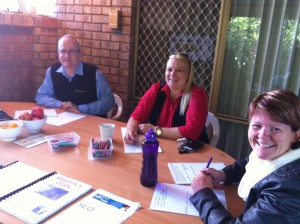 Group training session for Facebook Marketing inPerth